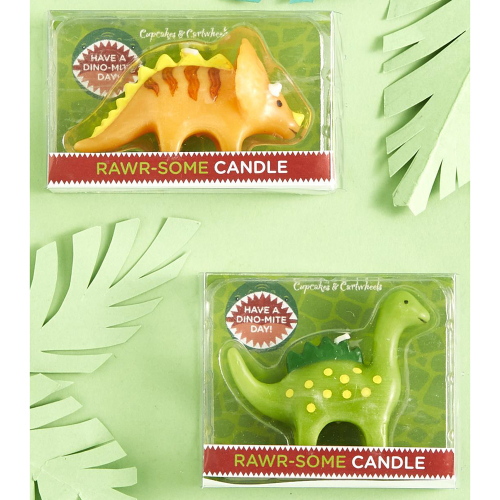 Dino Candle Set