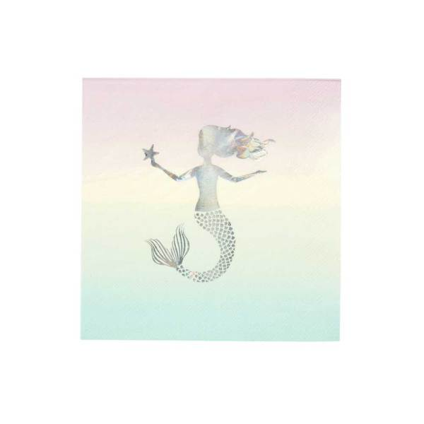 Mermaid Paper Napkins