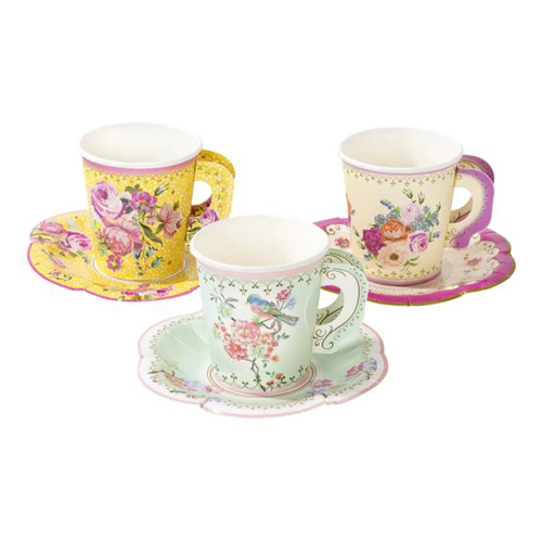 Truly Scrumptious Vintage Paper Cup Set