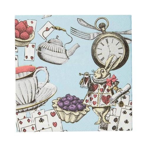 Alice in Wonderland Beverage Napkins