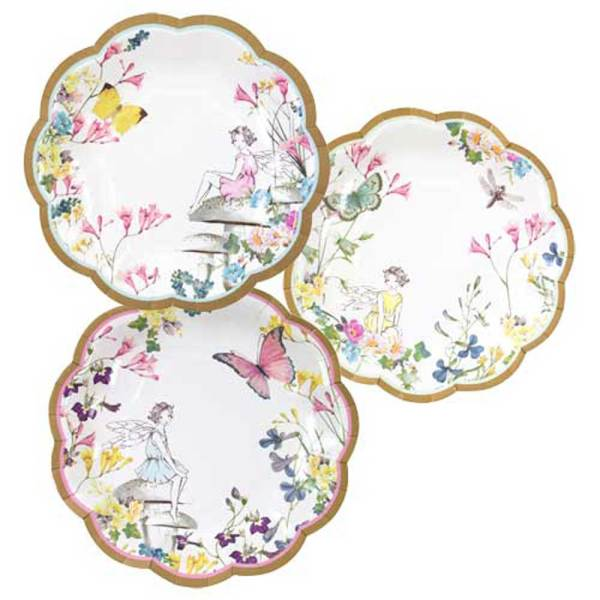 Truly Fairy Paper Luncheon Plates