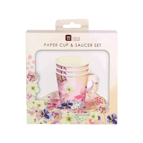 LTD QTY!  Blossom Girl Cup & Saucer Set
