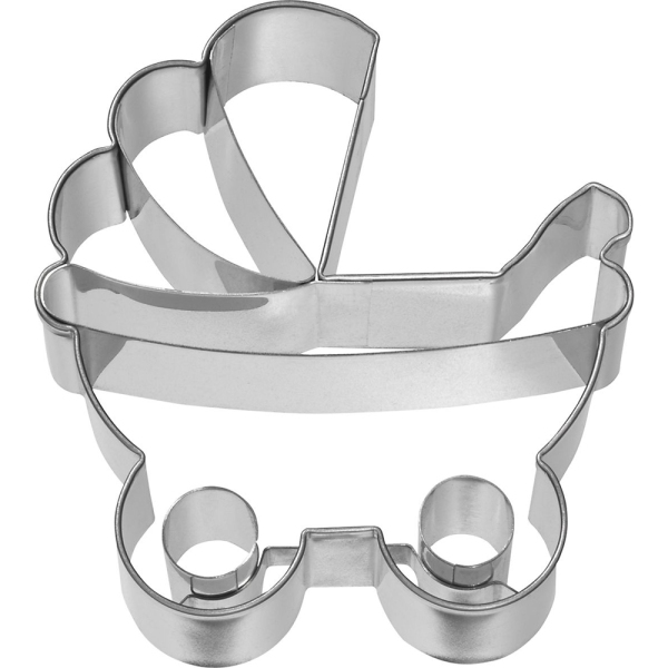 Mini Baby Pram Cookie Cutter