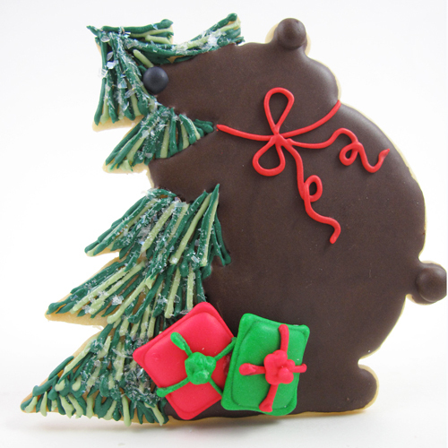 Bear Hugging Tree Cookie Cutter, Hammer Song