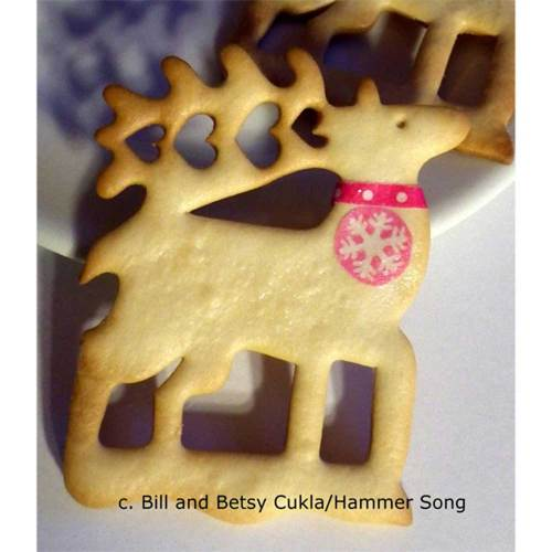 Reindeer Love Tin Cookie Cutter, Hammer Song