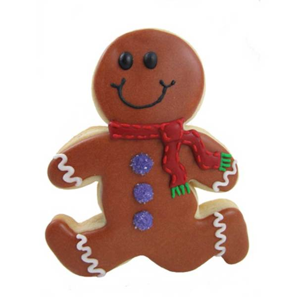 LTD QTY!  Running Gingerbread Man Cookie Cutter