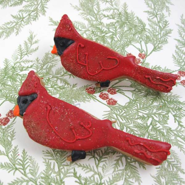 Red Cardinal Cookie Cutter