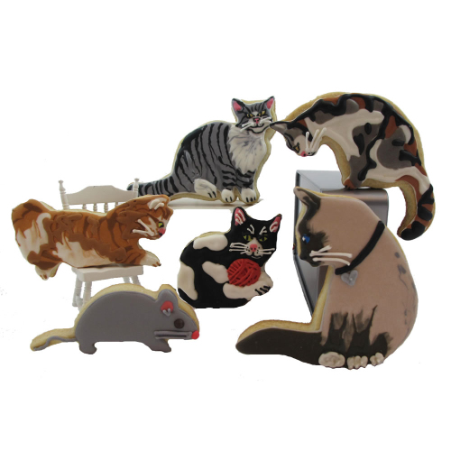 Cat and Mouse Cookie Cutter Set