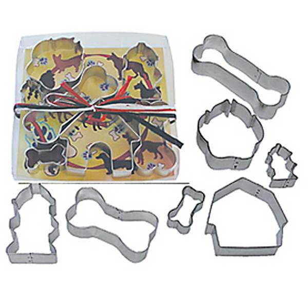 Dog Theme Cookie Cutter Set