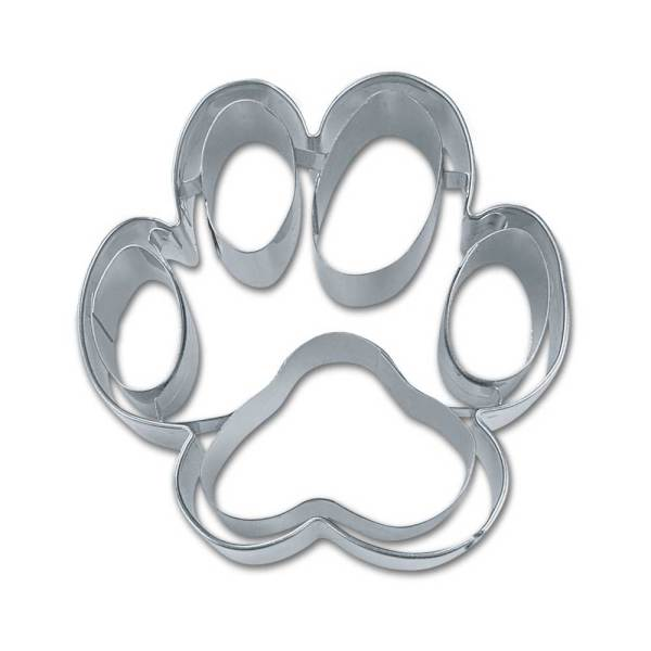 Medium Dog Paw Cookie Cutter