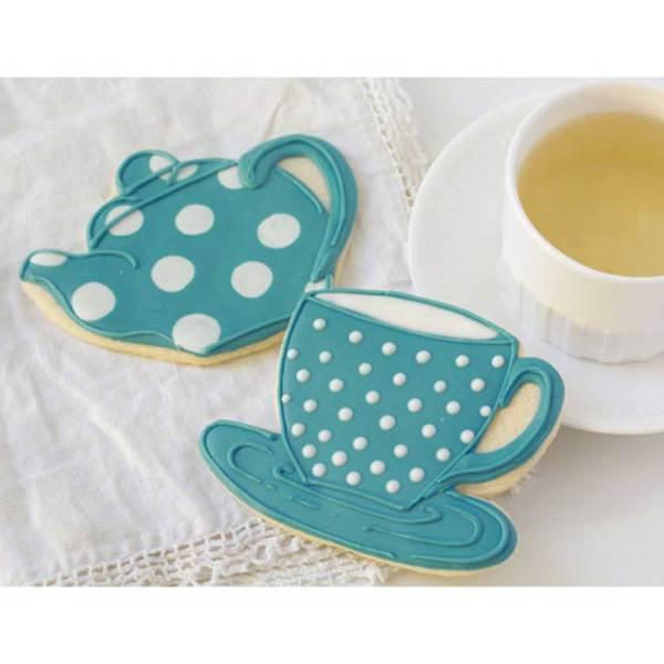 Tea Cup Cookie Cutter, Ann Clark