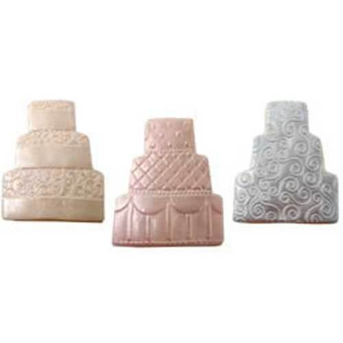 SALE!  Wedding Cake Cookie Cutter & Texture Set