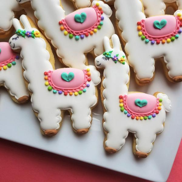 Fa La Llama Cookie Cutter