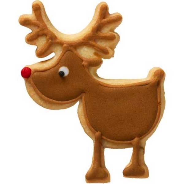 Rudolph Cookie Cutter