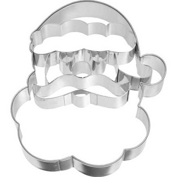 Jolly Santa Face Cookie Cutter