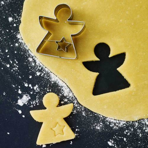 Geometric Angel Cookie Cutter