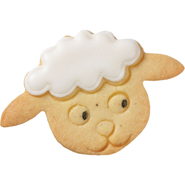 Lamb's Head Cookie Cutter