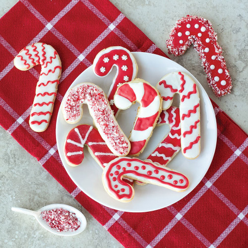 Striped Candy Cane Cookie Cutter