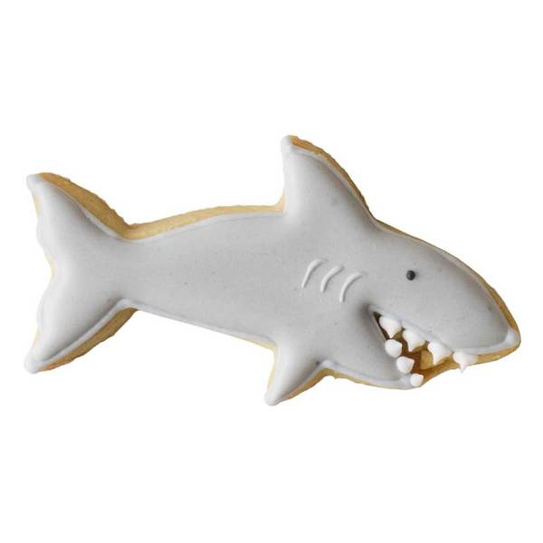 Happy Shark Cookie Cutter
