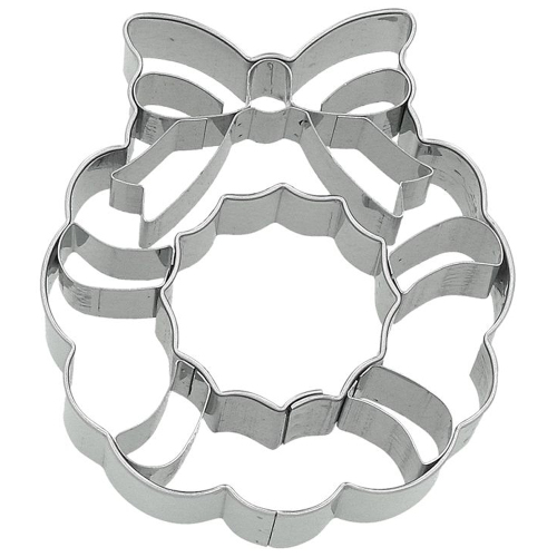 LTD QTY!  Detailed Wreath Cookie Cutter