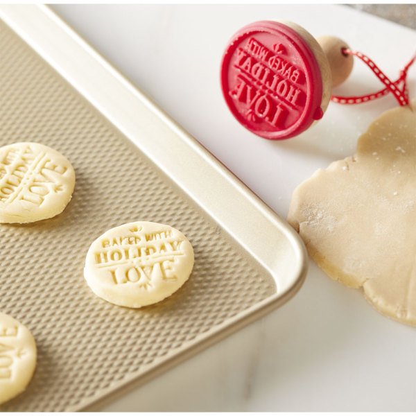SALE!  Holiday Baking Cookie Stamp
