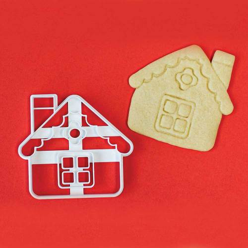 Gingerbread House Impression Cookie Cutter