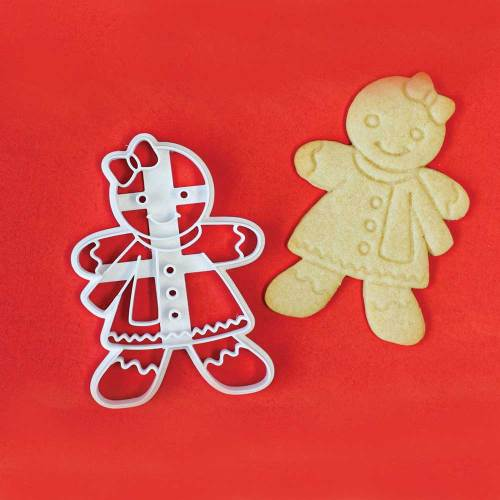 Gingerbread Girl Impression Cookie Cutter