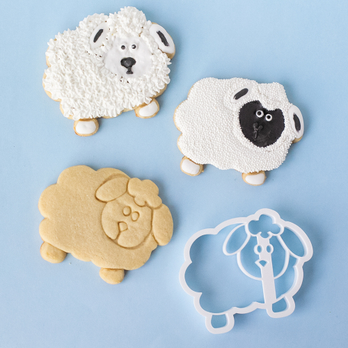 Cute Sheep Cookie Cutter