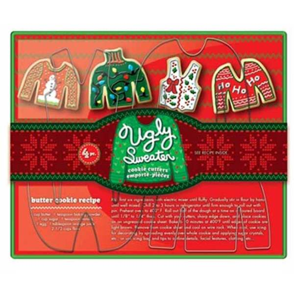 LTD QTY! Ugly Sweater Cookie Cutter Set
