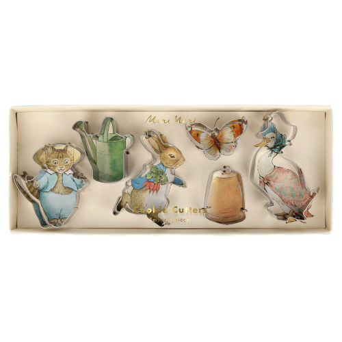 LTD QTY!  Peter Rabbit & Friends Mini Cookie Cutters