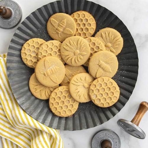 Honey Bee Cookie Stamps