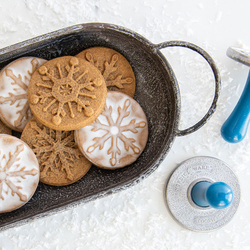 Snowflake Cookie Stamps - Nordic Ware