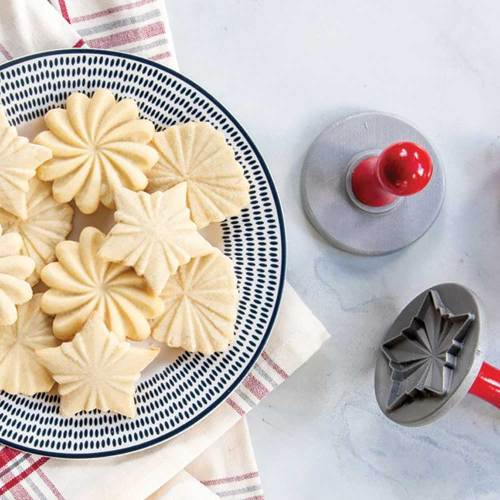 Pretty Pleated Cookie Stamps - Nordic Ware