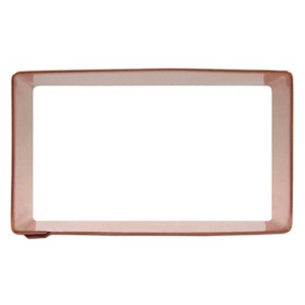 "Rectangle Cookie Cutter, 3"" x 2"" Copper"