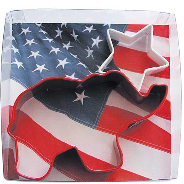 Political Party Red Elephant Cookie Cutter Set