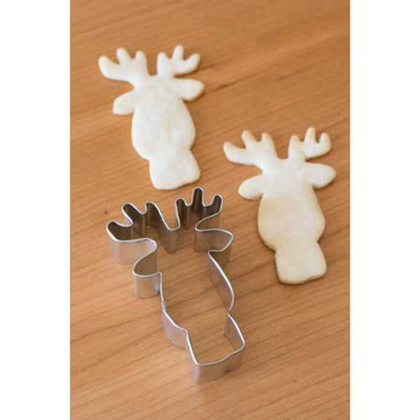 LTD QTY!  Fun Reindeer Face Cookie Cutter