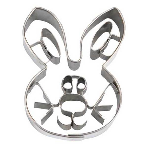 Whisker Rabbit Face Cookie Cutter