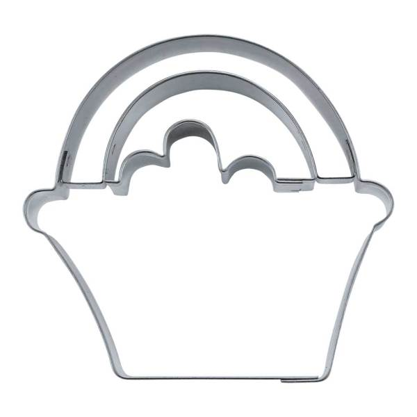 Flower Basket Cookie Cutter