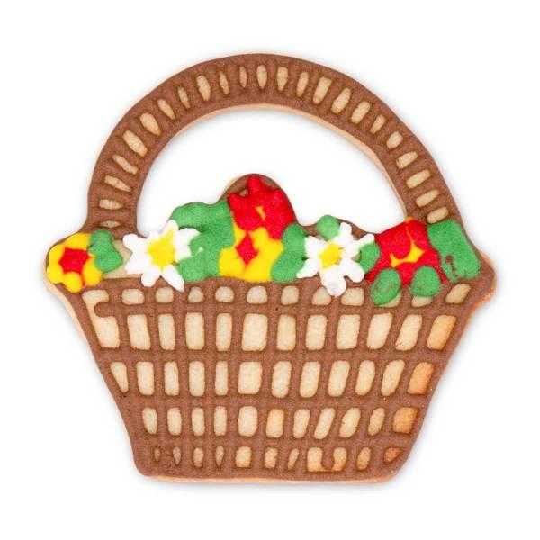 Flower Basket Cookie Cutter