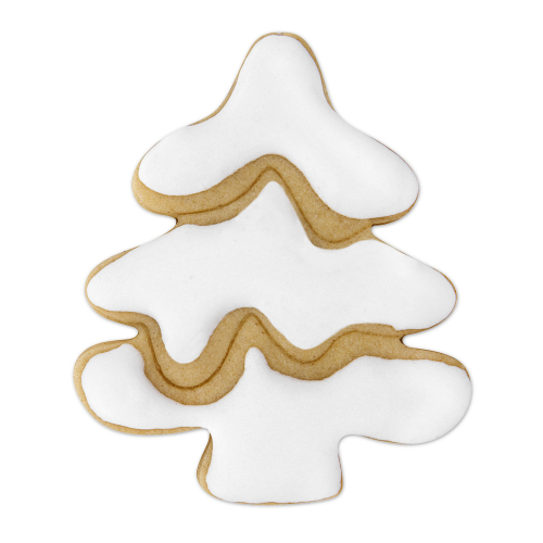 Snowy Christmas Tree Cookie Cutter