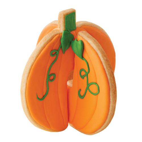 3D Pumpkin Cookie Cutter Set