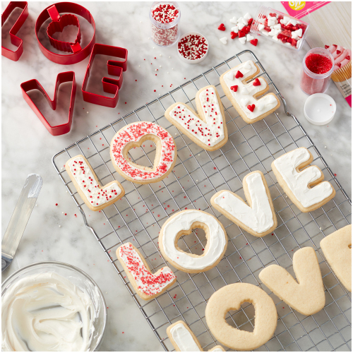 Love 4 Piece Cutter Set