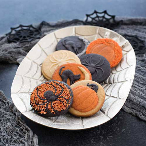 LTD QTY!  Spooky Heirloom Cookie Stamps