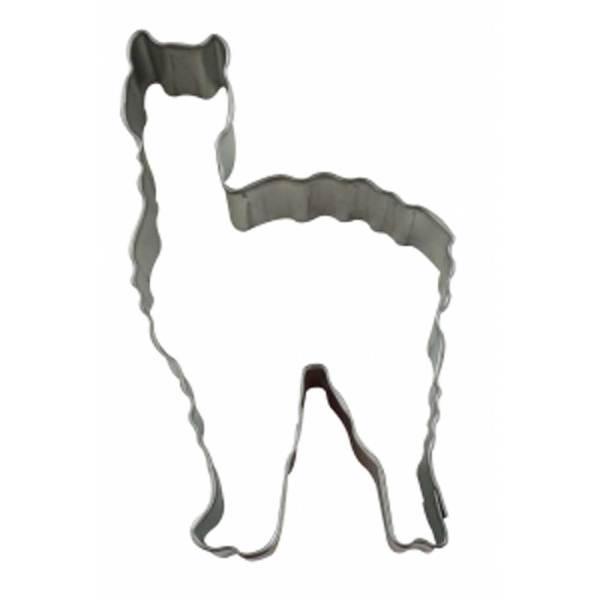 White Llama Cookie Cutter