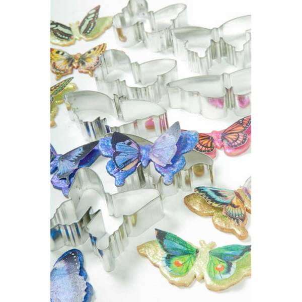 Butterflies Cookie Cutter Set