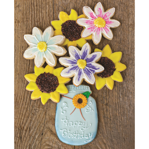 Summer Flower Cookie Cutter Set