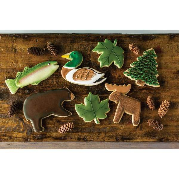 Mountain Lake Cookie Cutter Set