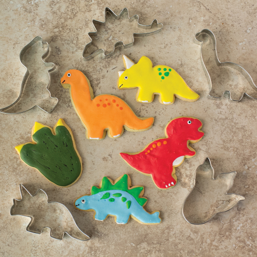 New Dinosaur Cookie Cutter Set