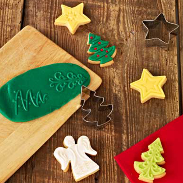 Merry Christmas Cookie Embossing Set