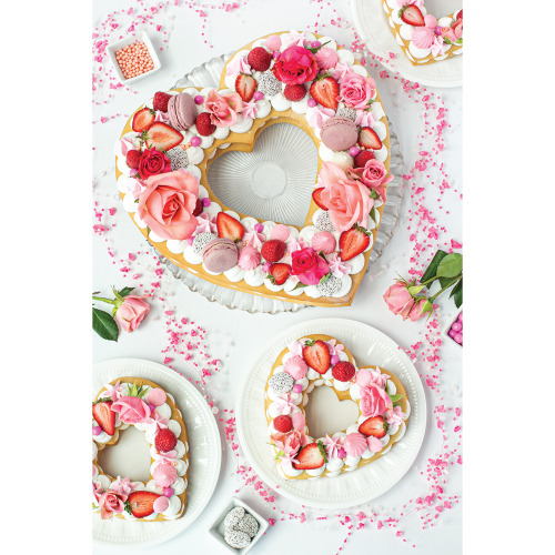 Heart Shaped Cake & Cookie Template Set